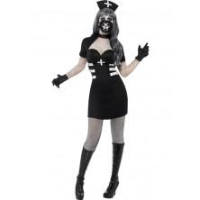 Zdravotní sestřička, černý kostým