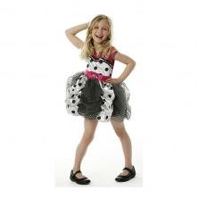 Kostým Hannah Montana Puff Ball - licenční kostým - LD 7 - 8 roků
