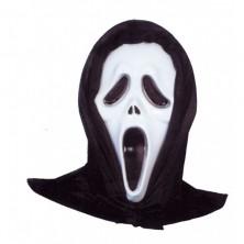 Maska vřískot se šátkem