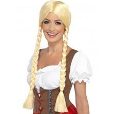 Bavorská paruka Oktoberfest, blond
