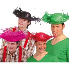 Mexický klobouk sort. barevný
