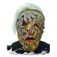Maska latexová s vlasy Monstrum