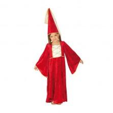 Zámecká paní s kloboukem - dětský karnevalový kostým