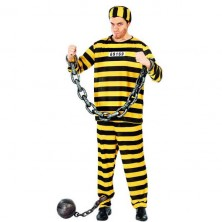 Vězeň pruhovaný žlutý