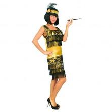 Charleston šaty zlaté