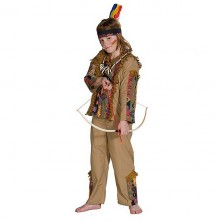 Navajo - kostým indiána