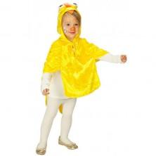 Kuřátko pelerína - dětský karnevalový kostým