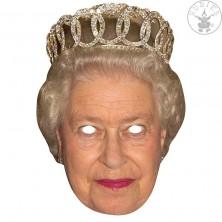 Queen - kartonová maska pro dospělé