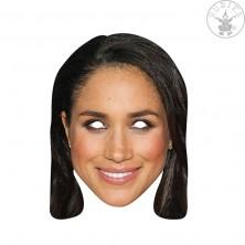 Meghan Markle - kartonová maska pro dospělé