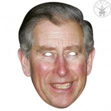 Princ Charles - kartonová maska pro dospělé