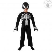 Black Spiderman Deluxe - dětský