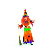 Hexe Kunterbunt - kostým čarodějnice
