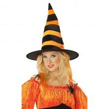 Čarodějnický s oranžovými vlasy