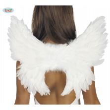 Bílá andělská křídla Guirca