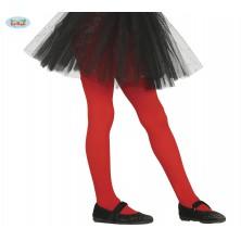Dětské červené punčocháče