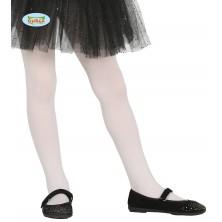 Dětské bílé punčocháče