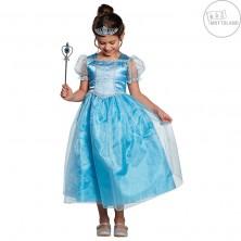 Modrá princezna Elli - kostým
