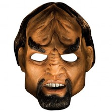Worf DLX Latex Maske - licence