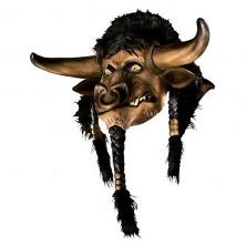 Tauren DLX Latex Maske - licence