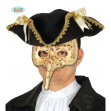 Benátská maska s nosem - LONG NOSE