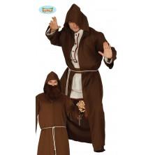 Mnich - plášť s kapucí