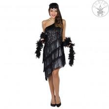 Černé charlestonové šaty
