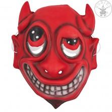 Dětská maska ďáblík