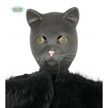 Maska černé kočky