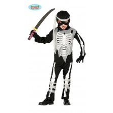 Kostým ninja skeleton
