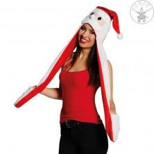 Vánoční čepička s šálou