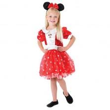 Kostým Minnie M Red Puff Ball - licenční kostým