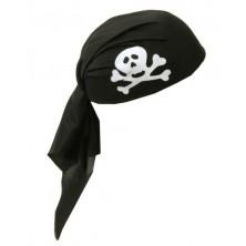 Pirát černý s páskem dětský