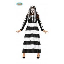 Skeleton - dlouhé šaty