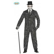 Oblek s kůstkami