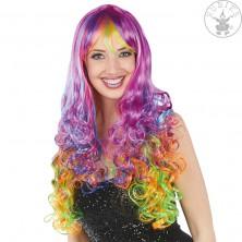 Rainbow Curls - duhová paruka