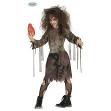 Kostým zombie dívka