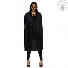 Sametový plášť černý