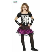 Dětský kostým kostry