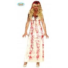 Krvavé bílé šaty
