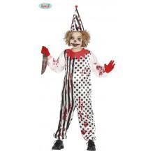 Zombie klaun - dětský kostým