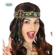 Hippie čelenka se stuhou