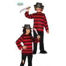 Malý Fredy Krueger kostým