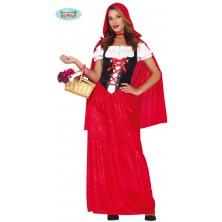 Červená Karkulka s pláštěm