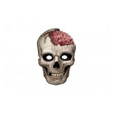 Kartonová maska lebka