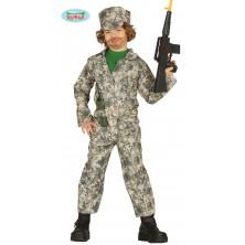 Dětské vojenské maskáče