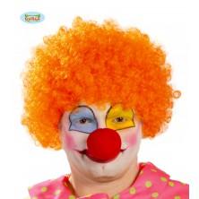 Paruka oranžový klaun