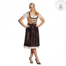 Dirndl hnědý - tradiční kostým