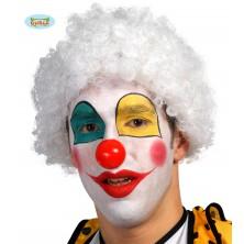 Paruka bílý klaun