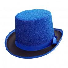 Cylindr Lurex modrý