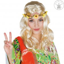 Dámská paruka hippie blond